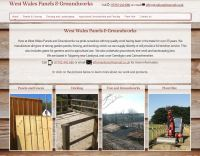 West Wales Panels and Groundworks website image